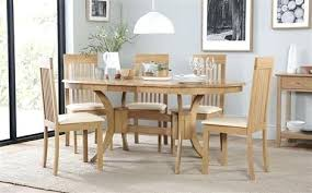 oval dining table set for 6 oval dining set townhouse oval oak extending dining table with 6
