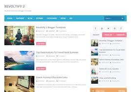 revoltify alternate 2 blogger template u2022 blogspot templates 2018