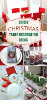 Christmas Tables Decorations Ideas by 20 Amazing Diy Christmas Table Decoration Ideas