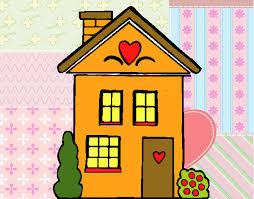 casa disegno disegno casa con cuori colorato da utente non registrato il 29 di