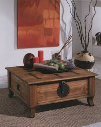 Rustic Coffee Table Trunk Rustic Trunk Coffee Table 46 For Living Room Decoration Ideas