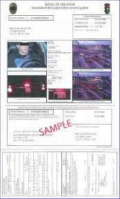 traffic light camera ticket real tickets red light cameras