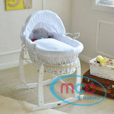 Moses Basket Coverlet Moses Basket Covers Newborn Bedding Ebay