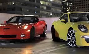 porsche 911 vs corvette motor trend s head2head pits the corvette grand sport vs the