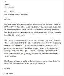 ideas of letter of recommendation academic advisor in sheets