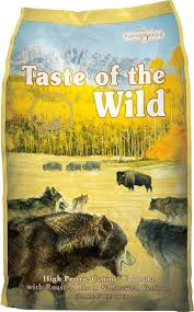 taste of the wild high prairie grain free dry dog food 30 lb bag