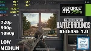 pubg 720p download video gtx 750 ti playerunknown s battlegrounds