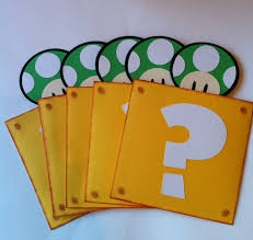 10 super mario bros 3d invitations awesome rooms pinterest