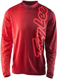 motocross jersey custom maillot troy lee designs troy lee designs gp 50 50 jersey rot