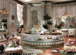 victorian bedrooms italian bed room in round shape top and