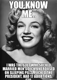 Marilyn Monroe Meme - anti marilyn monroe meme weknowmemes generator