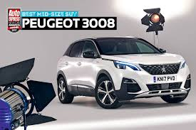 peugeot sport car 2017 mid size suv of the year 2017 peugeot 3008 new car awards 2017