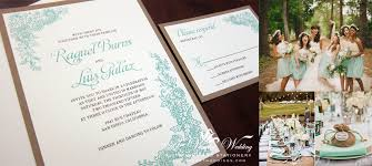 mint wedding invitations rustic wedding invitations a vibrant wedding