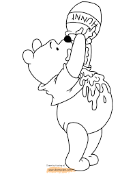 winnie the pooh printable coloring pages 2 disney coloring book