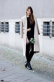 the perfect long camel coat