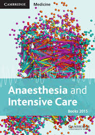 cambridge medicine anaesthesia and intensive care books catalogue