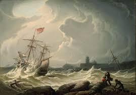 art wednesday robert salmon american nautical painter crash course