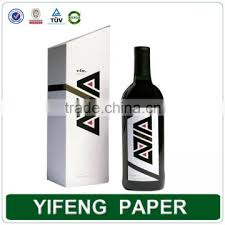wine bottle gift box wholesale custom cardboard unique wine bottle gift boxes paper box for wine