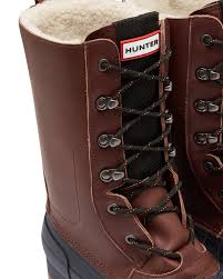 mens brown insulated pac boots official hunter boots store