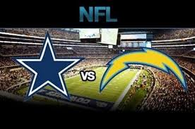 dallas cowboys vs los angeles chargers thanksgiving 2017 nfl