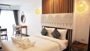 my chiang mai boutique lodge standard queen bed room