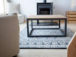 Build A End Table by How To Build A Modern Industrial Coffee Table How Tos Diy