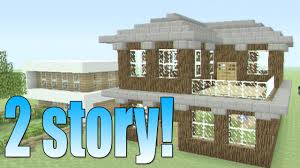 super easy house in minecraft how to build an easy 2 story house