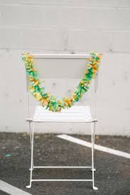 diy chair swags let s mingle