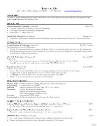 sle resume for internship in electrical engineering interesting idea hr intern resume 10 resumes human resources
