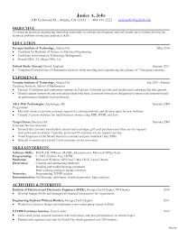 sle electrical engineering resume internship format sle resume for college student seeking internship 2 resumes