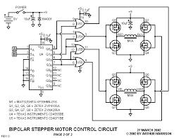 art u0027s theremin page bipolar stepper motor control circuit