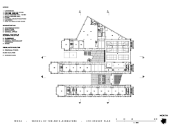 of the arts sixth floor plan archnet