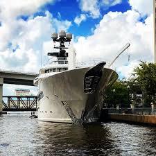 lurssen kismet spotted in jacksonville florida yacht harbour