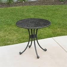 Granite Top Bistro Table Granite Patio Tables Foter