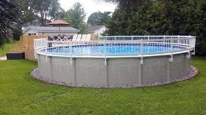 decks pools at menards above ground rectangular pool above