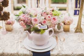 bridal tea party garden bridal shower inspiration ruffled