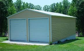 2 car garage two car steel garage building kit price