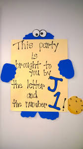 cookie monster baby shower 26 best cookie monster images on pinterest birthday party ideas