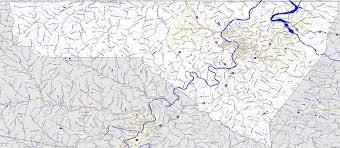 Map West Virginia by Landmarkhunter Com Monongalia County West Virginia