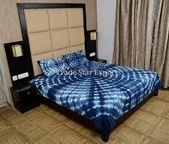 Tie Dye Bed Sets Indigo Bedding Set Shibori Indian Bedspread Tie Dye Bed