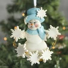 snowman gift box ornament porcelain ornament with storage