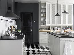 design ideas for black and white kitchens home design ideas image of black and white kitchen floor ideas kitchen and decor within black and white