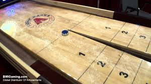 ricochet shuffleboard table for sale tavern snapback rebound commercial quality shuffleboard table