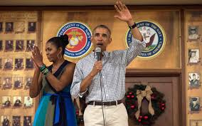 Obama Hawaii by Obama Pays Last Presidential Holiday Visit To Hawaii Marine Base