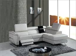 Modern Reclining Sectional Sofas Modern Reclining Leather Sofa Recliner Sleeper For Sectional Sofas