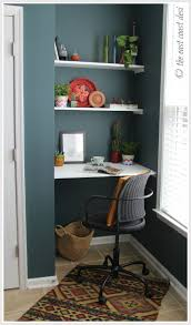 Narrow Desks For Small Spaces Home Office Ideas Small Home Office Design With Corner Narrow