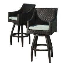 Outdoor Swivel Bar Stool Outdoor Bar Stools Outdoor Bar Furniture The Home Depot