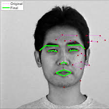face detection with active shape models asms file exchange