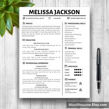 resume template free creative templates microsoft word ms with ins