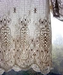 Crochet Lace Curtain Pattern 30 Best Crochet Curtains Images On Pinterest Crochet Curtains